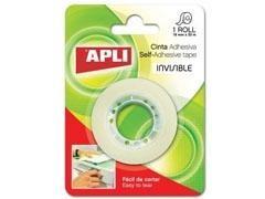 APLI Cinta adhesiva invisible