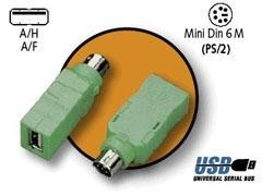 STEY Adaptador de ps2 a USB