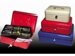 RESKAL Caja caudales 25X18X9 colores AZUL