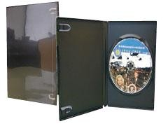 STEY Archivador 1 DVD's 9mm caja negra c/canguro