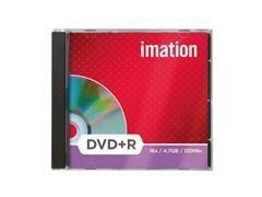 Pack 10 DVD+R Imation 4,7GB 16x caja jewel