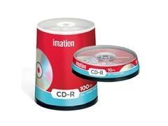 Pack 25 CD-R Imation 700Mb 52x tartera