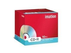 Pack 10 CD-R Imation 700Mb 52x caja jewell