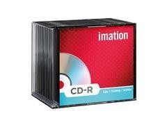 Pack 10 CD-R Imation 700Mb 52x caja slim