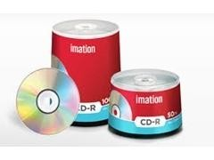Pack 10 CD-R Imation 700Mb  52x tartera