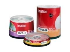 Pack 10 DVD+R Imation 4,7GB 16x caja slim