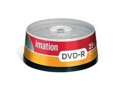 Pack 10 DVD-R Imation 4,7GB 16x tartera