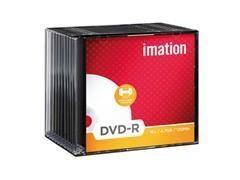 Pack 10 DVD-R 4.7GB 16x caja slim