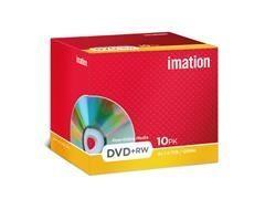 Pack 10 DVD+Rw Imation 4.7gb 4x tartera
