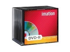 Pack 10 DVD-R Imation 4.7GB 16x caja slim