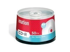 Pack 50 CD-R Imation 700MB 52x tartera