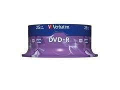 Bobina 25u DVD+R 16x