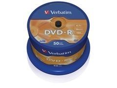 Bobina 50u DVD-R 16x