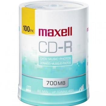 Tartera 100 CD-R Maxell 700mb