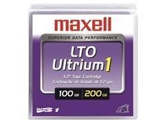 Cartucho de datos Maxell lto Ultrium 1 100-200gb
