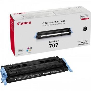 CANON Toner laser CRG-707BK original NEGRO LBP5000