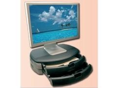 STEY Soporte monitor/impr. + 2 cajones A4 450x315x110