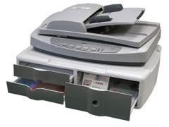 STEY Soporte scanner/impr/mon 3 cajones 535x375x145