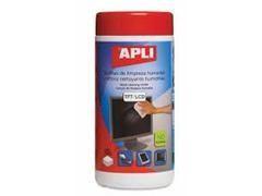 APLI Toalla de limpieza tft/lcd (100ud)