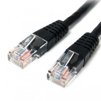 Cable de red RJ45 Cat5E 3m negro