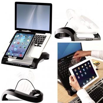 Soporte Fellowes para portátil y tablet Smartsuites