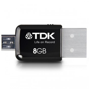 Memoria Usb 2 en 1 mini express 3.0 flash drive 8GB para android TDK