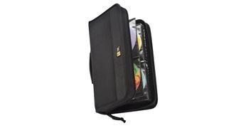 Fichero Case Logic  CD's/DVD's ProSleeve acolchado grueso 128 CD's 315x65x290 mm negro