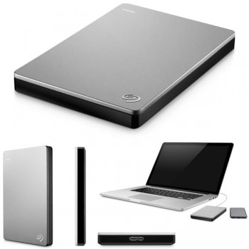 Disco duro externo Backup plus slim Seagate 3.0 1TB negro