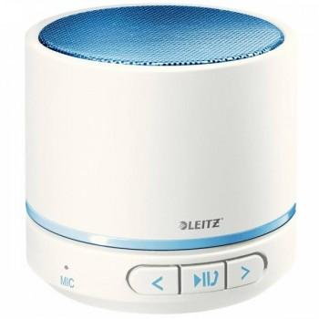 Mini altavoz portátil con conexión Bluetooth azul