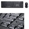 Kensington Set de teclado inalámbrico Pro Fit