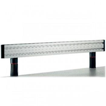 panel accesorios tercer nivel Novus MSS 100cm gris/aluminio