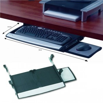 FELLOWES Bandeja para teclado + raton bajo mesa OFFICE SUITES