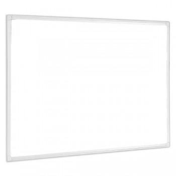 BI-OFFICE Pizarra blanca magnetica marco aluminio