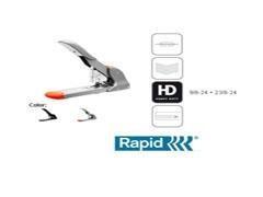 RAPID Grapadora alta capacidad HD210 (210hojas) gris/nar