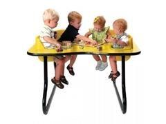 Mesa fital 4 niños