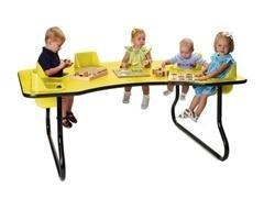 Mesa fital 6 niños