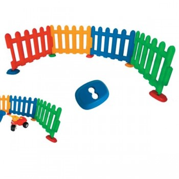 Barrera multicolor tanto para exterior como para interior altura 75 cm