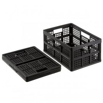 Caja alamcenaje Really Useful boxes 32 l plegable sin tapa negro