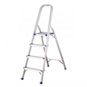 Pull Escalera de aluminio multiuso 4 peldaños
