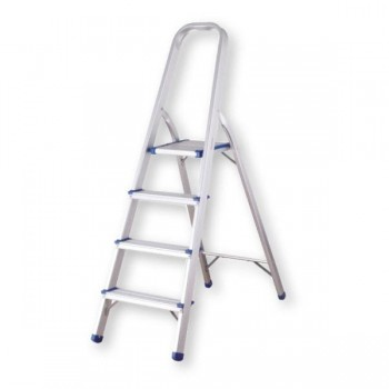 Pull Escalera de aluminio multiuso 5 peldaños