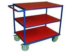 Mesa rodante con baldas carga 500kg 91x61x95cm peso 32kg