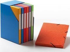 UNIPAPEL Modulo con 6 carp.proyecto A4 2,5cm colores