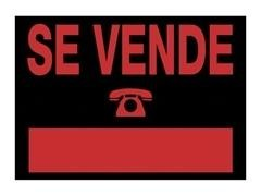 Cartel se vende 500X230mm negro
