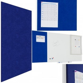 Rocada Pizarra tapizada Skin Pin Board 75x115cm azul