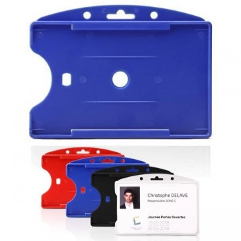 Tarifold Portatarjetas de identificación Tarifold azul