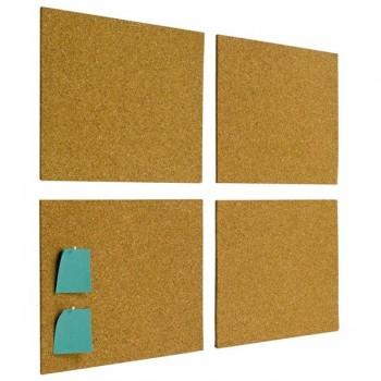Caja 4 placas corcho autoadhesivo 30x40cm 5mm espesor