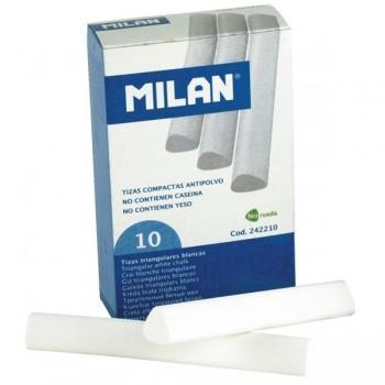MILAN Tiza antipolvo triangular
