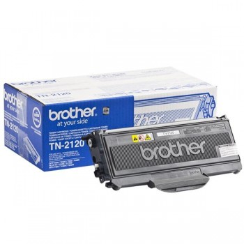 BROTHER Toner laser TN-2120 negro original 2,6k