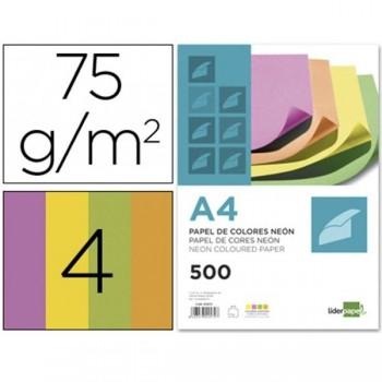 LIDERPAPEL Papel colores A4