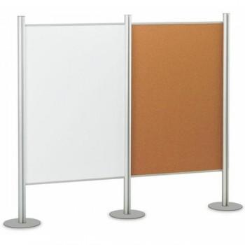 Mampara modular tapizada 120X150cm ocre